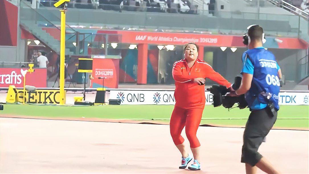 田径一姐王铮链球扔70多米破纪录,还没有谁能超越她
