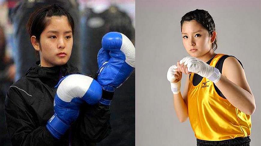 日本拳击美少女,被粉丝公开表白,愿意天天被你揍!