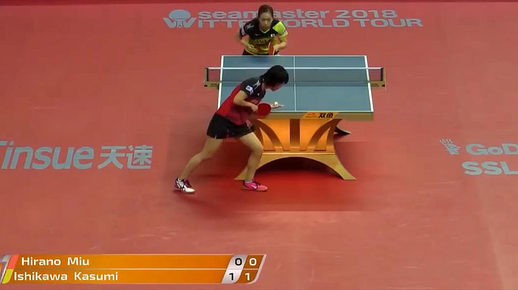 乒乓球比赛,两大高手的巅峰较量,真是太精彩了!