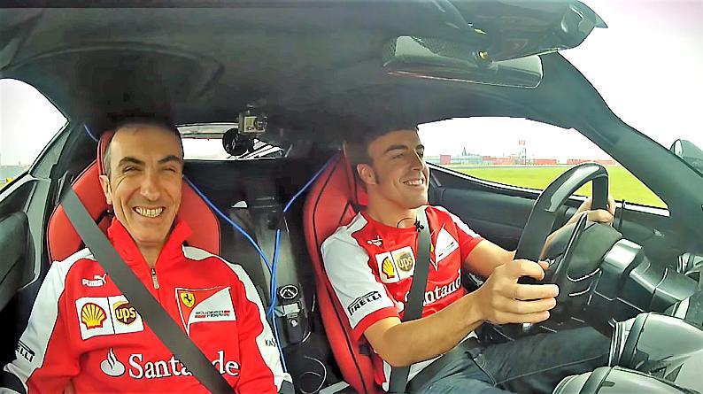 F1车手试跑拉法拉利是什么感觉?工程师:这就结束了吗?
