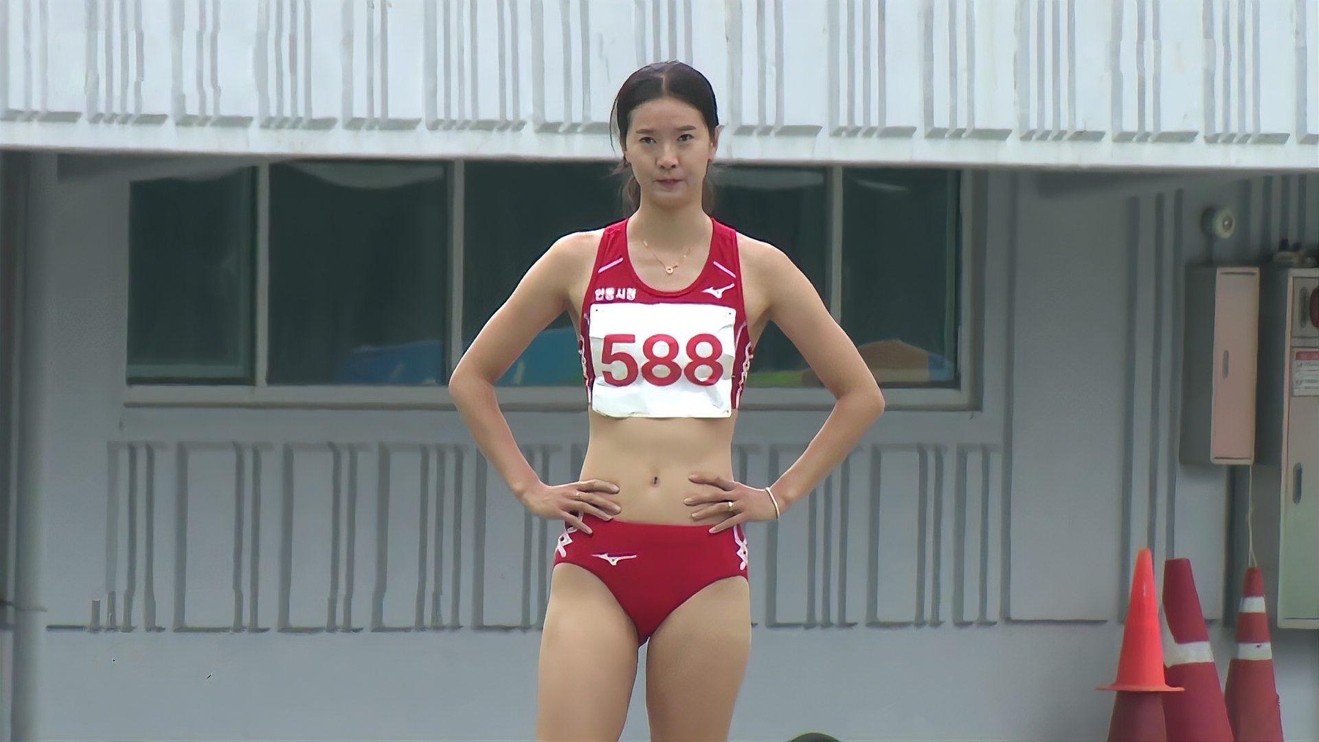 韩国田径界那些美貌与实力并存的美女运动员