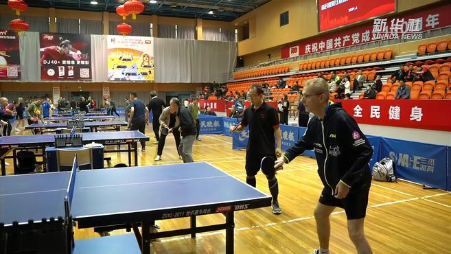 上海重启城市业余联赛乒乓球项目