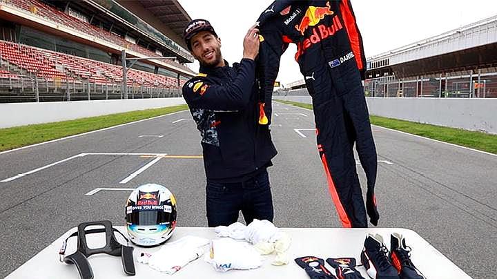 F1赛车服有多少黑科技?看完终于只知道为什么1套值50万!