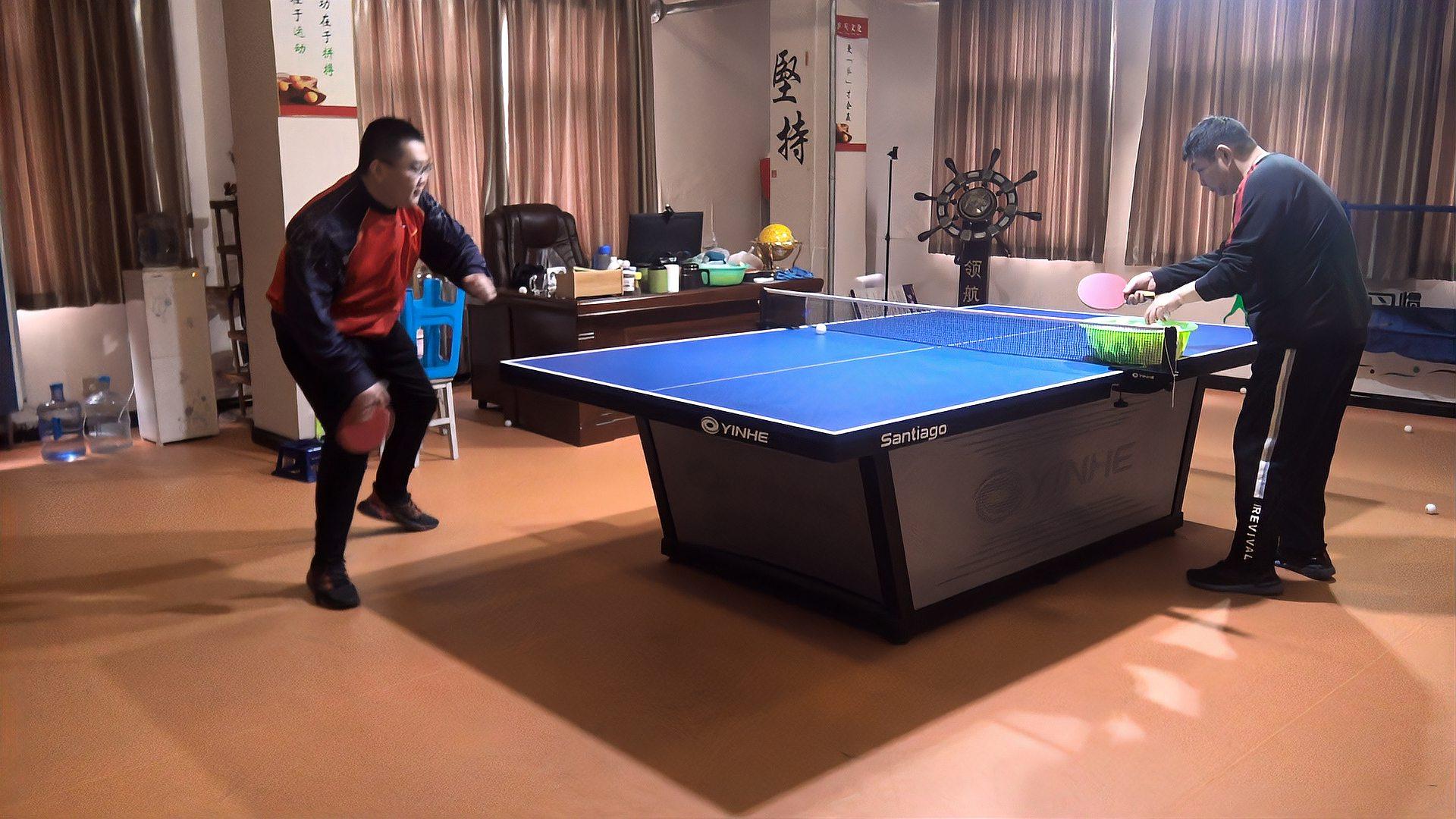 业余球友乒乓球正手拉下旋球,有哪些常见的问题?如何去解决?
